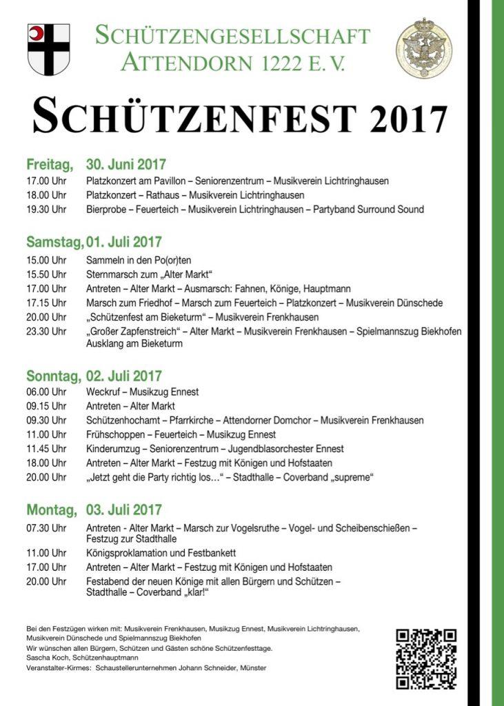 Schützenfest Attendorn 2017