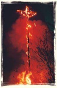 Abbrennen der Kreuze - Ostern in Attendorn