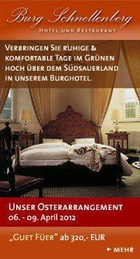 Osterarrangement 2012 - Burg Schnellenberg