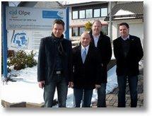 Besuch Bürgermeister Hilleke