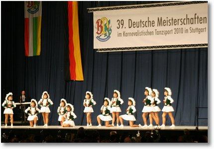 Deutsche Meisterschaften im karnevalistischen Tanzsport 2010