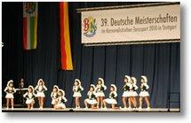 39. Deutsche Meisterschaften im Karnevalistischen Tanzsport 2010 Stuttgart