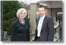 Petra Crone zu Besuch bei Attendorns Bürgermeister