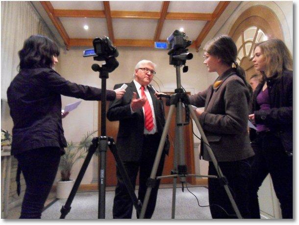 steinmeier interview - st. ursula schule