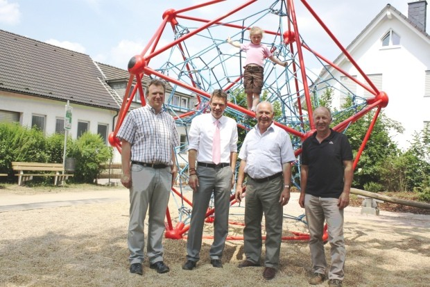 gerhard rosenberg stiftung unterstützt Kindergärten und Spielplätze