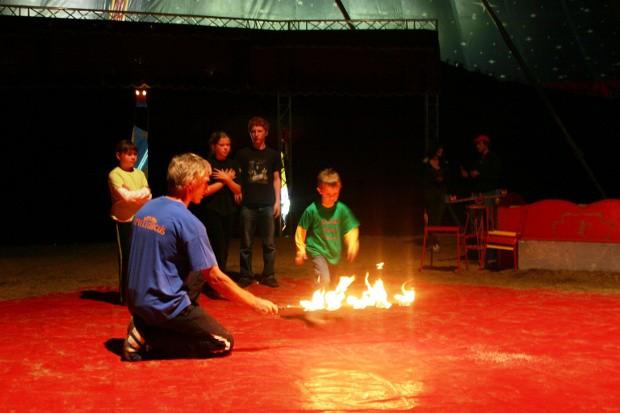 Spielezirkus auf dem Gauklerfest 2010 Attendorn