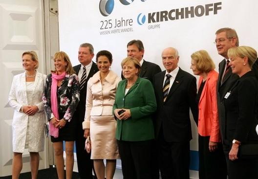 Bundeskanzlerin Dr. Angela Merkel zu Besuch in Iserlohn