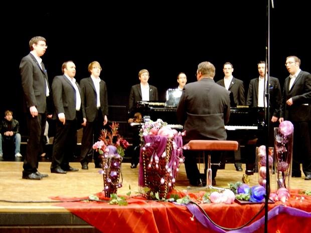 Blue Capella holt Gold beim Zuccalmaglio-Festival in Rheine