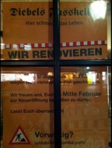 Diebels Fasskeller Attendorn - Umbau