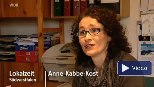 Anne Krabbe-Kost - Facebook Twitter - Lokalzeit Südwestfalen