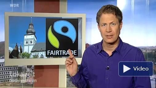 Die Lokalzeit Südestfalen berichtet über die FairTrade Stadt Attendorn