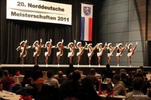 Regimentstöchter Attendorn - Norddeutsche Meisterschaften Kassel 27.03.2011