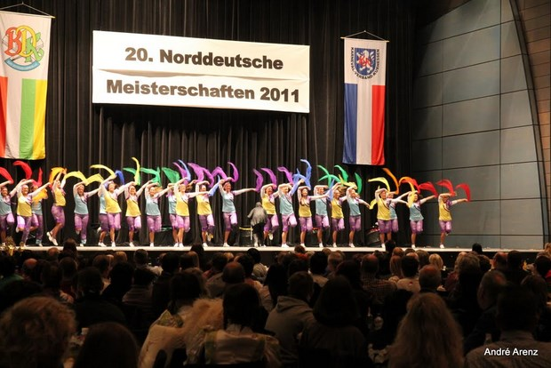 Regimentstöchter Norddeutsche Meisterschaften Kassel 27.03.2011