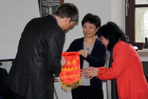 Chinesische Delegation in Attendorn