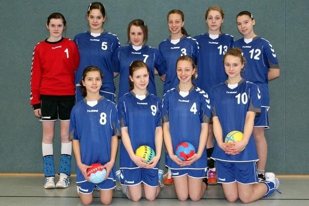 handballmaedels -St.Ursula Attendorn 2011