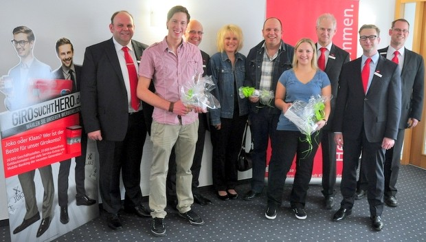 Gewinner Sparkassengewinnspiel 2011