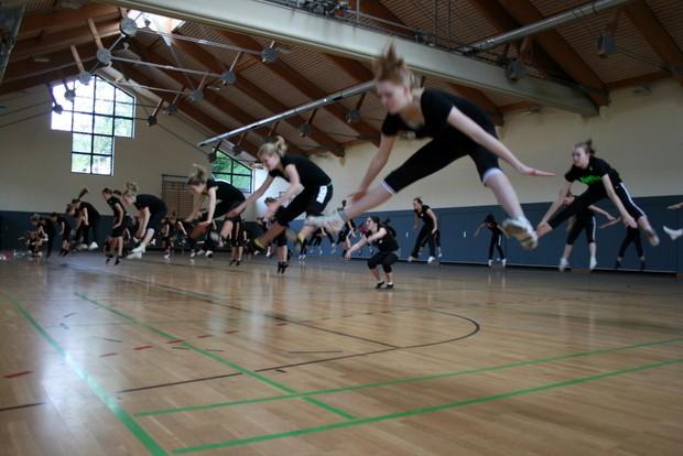 Training Attendorner Tanzgarden 2011