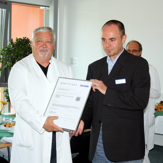 Zertifizierung St. Barbara Krankenhaus Attendorn-2011