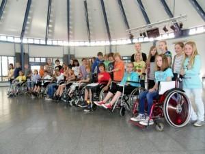 Rollstuhlprojekt St. Ursula Gymnasium: Klasse 5b