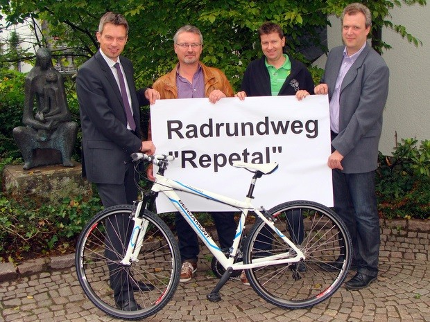 Ideenwettbewerb - Radroute Repetal