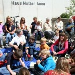 Ferienspaßaktion zu Gast in Haus Mutter Anna