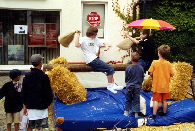 Sackschlagen - Gauklerfest 2011 Attendorn