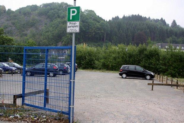 Parkplatz Attendorn Finnentroper Straße