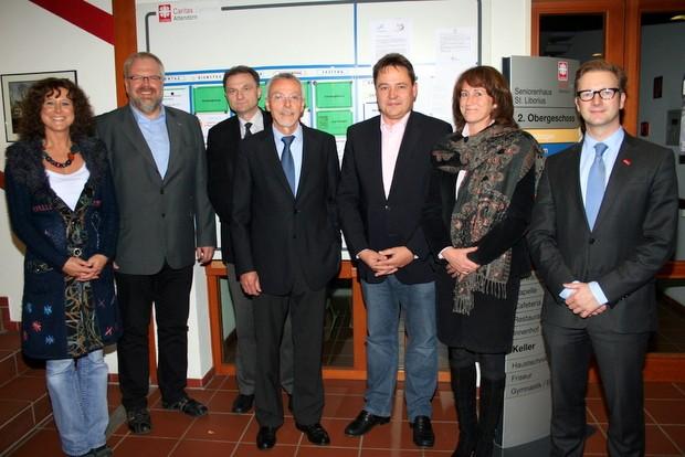 Vorstand 2011 - Förderverein Caritas-Zentrum-Attendorn