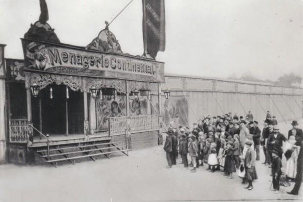 Menagerie-Zirkus-Krone
