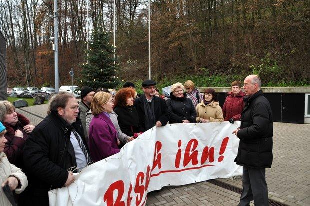 Lettischer Besuch in der JVA