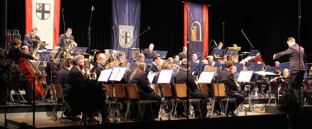 12-01-14 Konzert Phantastische Geschichten - Musikzug Ennest - Stadthalle Attendorn