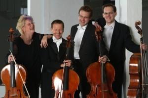 """Celloquartett der bergischen Symphoniker """"ACELLORANDO"""