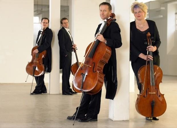 """""""ACELLORANDO"""" - Celloquartett der Bergischen Symphoniker Musik"""