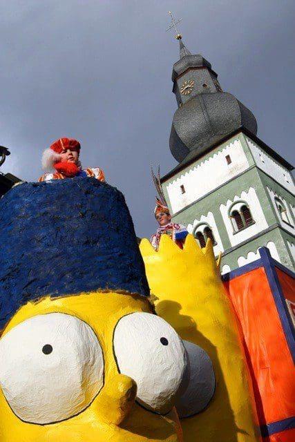 Kinderkarnevalszug 2012 - Attendorn