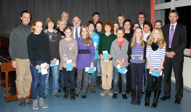 Jugend Musiziert Attendorn - Finnentrop 2012