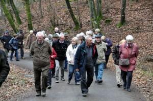 Wanderung Senioren Union Attendorn