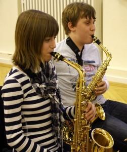 Probe beim Jugendorchester-Attendorn