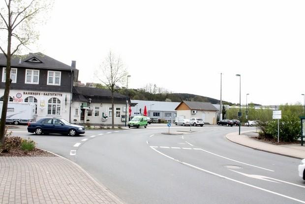 kreisverkehr bahnhof attendorn