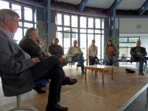 Podiumsdiskussion am St.-Ursula-Gymnasium 2012