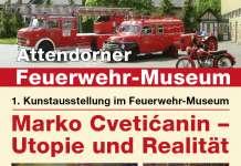 Feuerwehrmuseum Ausstellung Marko Cveticanin Plakat