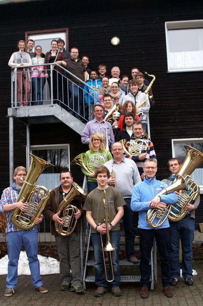Probenwochenende Musikzug Attendorn 2013