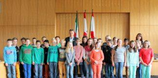 Besuch im Rathaus - St. Ursula Schule