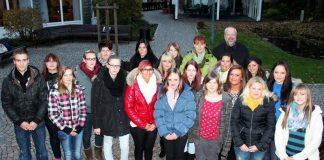 Auszubildende 2013 - Caritas Zentrum Attendorn