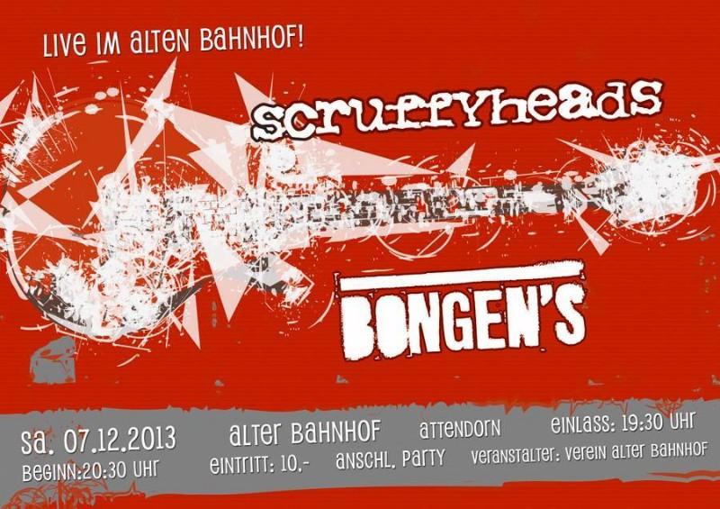Bongens und Scruffyheads -A lter-Bahnhof
