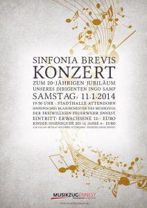 20-jährigen Dirigentenjubiläum von Ingo Samp