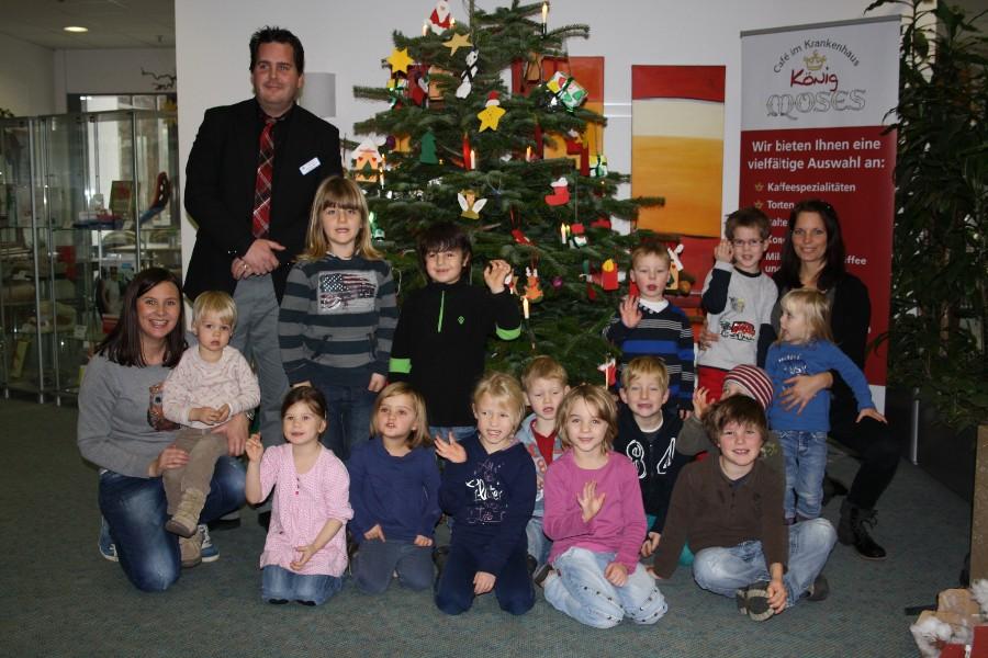 Weihnachtsbaum 2013 Krankenhaus Attendorn
