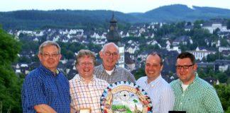 Übergabe der Königsplaketten - Attendorn 2014