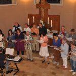 Kirchenchor der evangelischen Kirchengemeinde Attenorn alle Fotos: Karl-Hermann Ernst