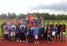 Siegerehrung Satdsportfest Attendorn 2014