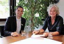Bundestagsabgeordnete Petra Crone zu Gast im Attendorner Rathaus Besuch bei Bürgermeister Christian Pospischil